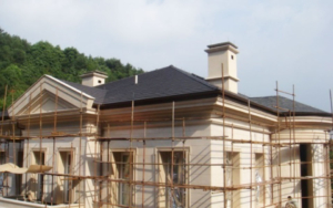 insulation of commercial residences such as villas