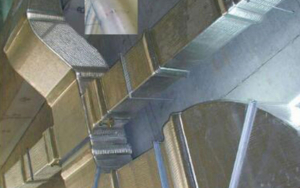 central air conditioning pipe cladding